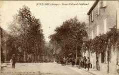 Mirepoix Cours Colonel Petitpied (cpa animée - Mirepoix