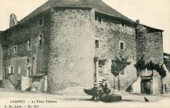 Lagnieu Le Vieux Chateau (dos non divisé) (cpa animée - Lagnieu