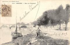 Libourne Quai Du Priourat (dos non divisé) pas courante - Libourne