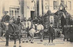 Nancy Fetes De La Vigne Et Du Houblon Char De Gambrinus (grosplan (Scan R - Nancy