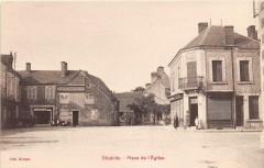 Chabris Place De L'Eglise - Chabris