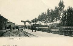 Lagnieu La Gare (dos non divisé) - Lagnieu