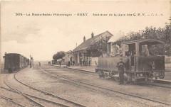 Gray Interieur De La Gare Des C.F.V. (Tres Gros Plan Superbe - Gray