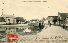 La Madeleine De Nonancourt La Mare (cpa animée - Nonancourt