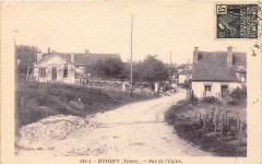 Etigny Rue De L'Eglise - Étigny