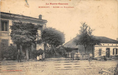 Miremont Entree Du Boulevard (cpa animée) - Miremont
