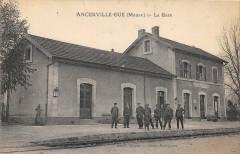 Ancerville La Gare (Belle Cpa - Ancerville