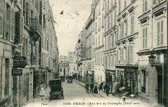 Paris XVIIe Rue Arc De Triomphe (cpa animée) - Paris 17e