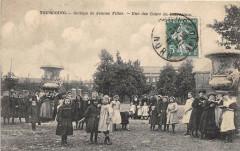 Tourcoing College De Jeunes Filles Une Des Cours De Recreation  (animée C - Tourcoing