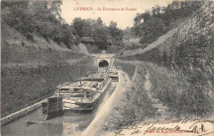 Liverdun La Tranchee Et Le Tunnel - Liverdun