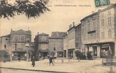 Langeac Place Navarin (animée cliché pas courant - Langeac