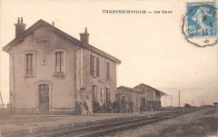 Trancrainville La Gare (cpa pas courante - Trancrainville