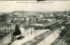 Montbeliard Vue Generale Prise De La Gare (pas courante - Montbéliard