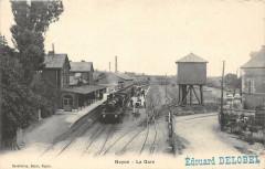 Noyon La Gare (Train En Gare - Noyon