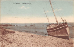 Fouras Le Port Nord (cliché pas courant - Fouras