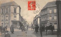 Argentan Rue De L'Orne (cpa animée - Argentan