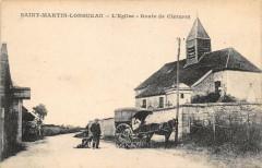 Saint Martin Longueau L´EGLISE Route De Clermont (animée - Clermont