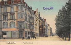 Thionville Diedenhofen Metzerstrasse (animée - Thionville