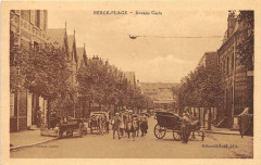 Berck Plage Avenue Cazin (cpa pas courante animée 62 Berck