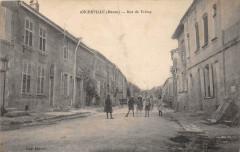 Ancerville Rue De Fremy (cpa pas courante - Ancerville