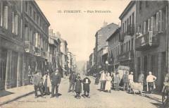 Firminy Rue Nationale (animée Cpa Pas Courante - Firminy