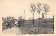 La Breille L'Arrivee De Saumur - Saumur