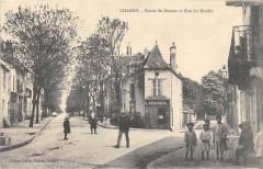 Chagny Route De Beaune Et Rue Du Moulin (animée - Chagny