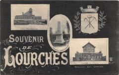 Belle Cpa Illustree Souvenir De Lourches - Lourches