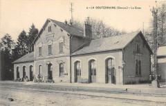 La Souterraine La Gare (cliché pas courant - La Souterraine