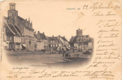Cassel La Grande Place (dos non divisé) - Cassel