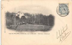 Saint Philippe D'Aiguille PresSaint-Emilion Chateau D'Aiguille (dos non div - Saint-Philippe-d'Aiguille