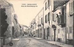 Marcigny Rue De Borchamp (cliché pas courant - Marcigny