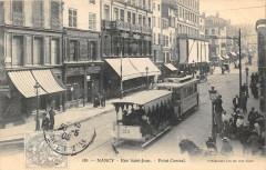 Nancy Rue Saint Jean Point Central (tramway gros plan - Nancy