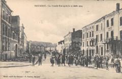 Baccarat La Grande Rue Apres Le 25 Aout 1914 (animée - Baccarat