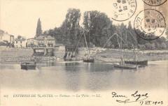 Environs De Nantes Vertoux La Peche (dos non divisé) - Nantes