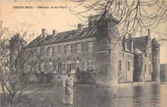 Esquelbecq Chateau Vu Du Parc (cliché pas courant - Esquelbecq