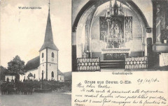 Gruss Aus Sewen O.Els (cpa pas courante - Sewen