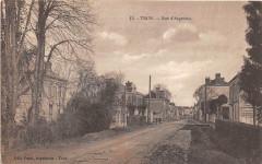 Trun Rue D'Argentan (cliché pas courant - Trun
