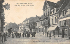 Saint Pol Rues Des Carmes Et De Frevent (animée - Frévent