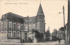 Duisans Rue Du Moulin (cpa pas courante - Duisans