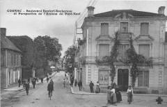 Cognac Bd Denfert Rochereau Et Perspective De L'Avenue Du Pont Neuf - Cognac