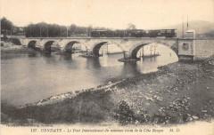 Hendaye Le Pont International Du Nouveau Tram De La Cote Basque - Hendaye