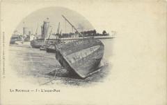 La Rochelle L'Avant Port (dos non divisé) cpa au nuage - La Rochelle