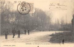 Roubaix Le Patinage Au Parc De Barbieux (dos non divisé) - Roubaix