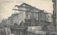 Rive De Gier Le Pont Levis (cliché pas courant - Rive-de-Gier
