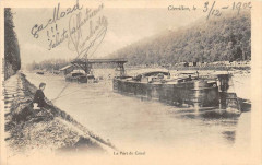 Chevillon Le Port Du Canal (dos non divisé) Cliche Rare - Chevillon