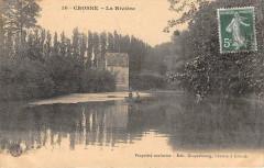 Crosne La Riviere (cliché pas courant - Crosne