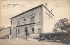 Damblain Hotel De La Gare A.tassin (cpa rare - Damblain
