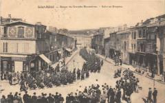 Saint Mihiel Retour Des Grandes Manoeuvres Salut Au Drapeau (animée - Saint-Mihiel