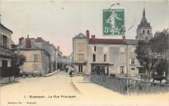 Buzancais La Rue Principale (pas courant - Buzançais